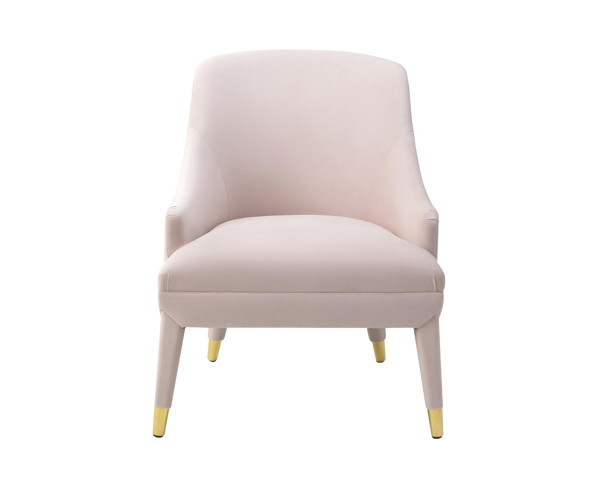 Liang & Eimil Sylvia Occasional Chair Blush Velvet BH-OCH-092 (2)