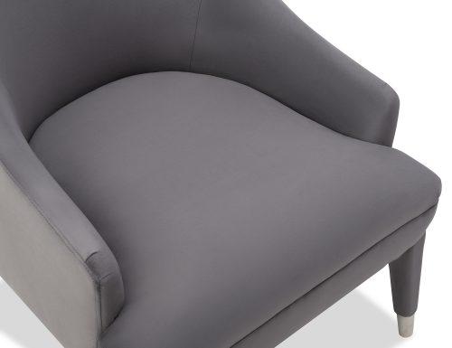 Liang & Eimil Sylvia Occasional Chair Night Grey Velvet BH-OCH-091 (1)