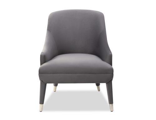 Liang & Eimil Sylvia Occasional Chair Night Grey Velvet BH-OCH-091 (2)