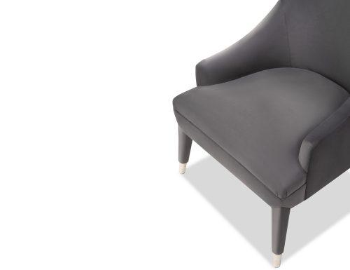 Liang & Eimil Sylvia Occasional Chair Night Grey Velvet BH-OCH-091 (5)