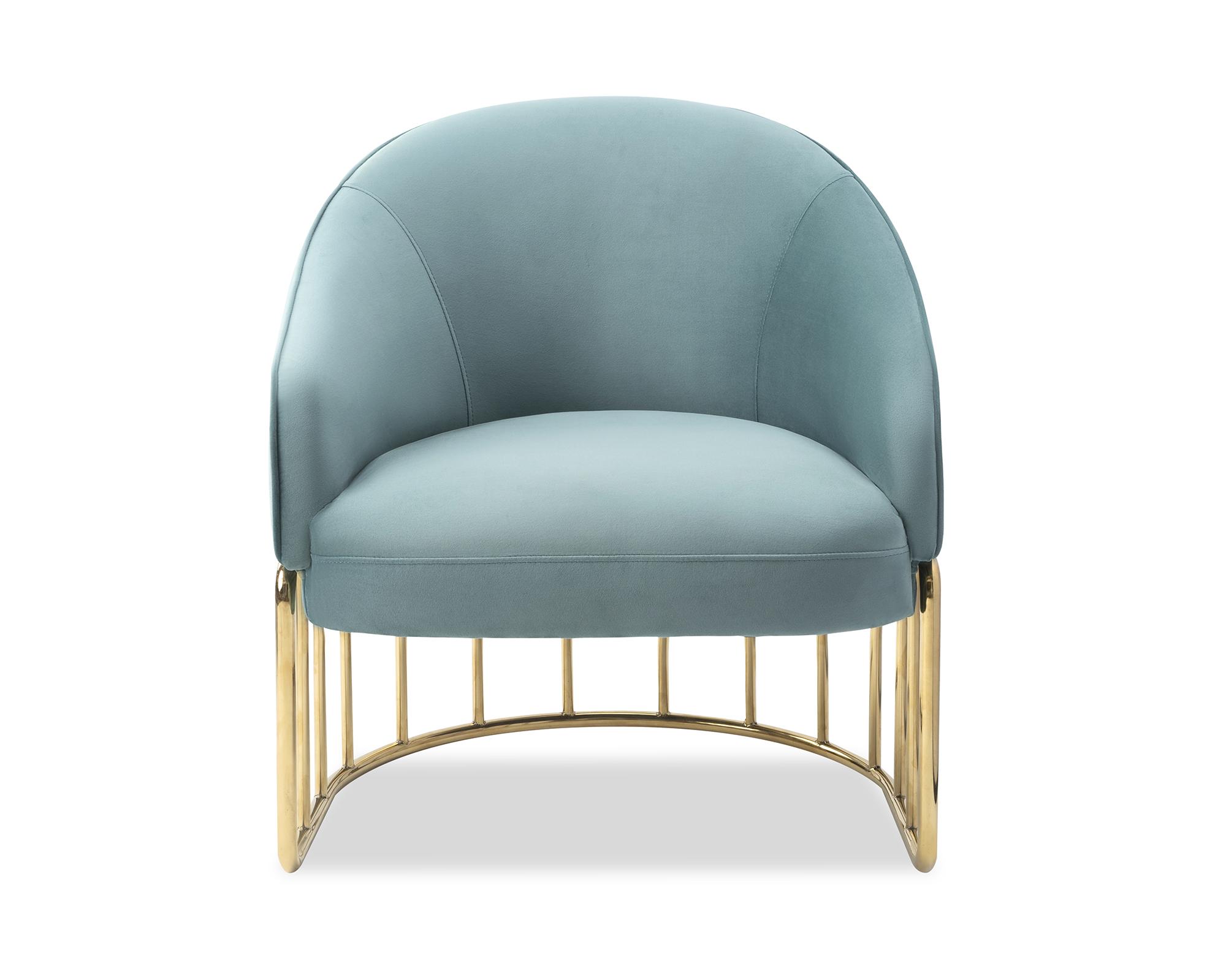 Liang & Eimil Boston Occasional Chair Deep Turquoise Velvet BH-OCH-133 (2)
