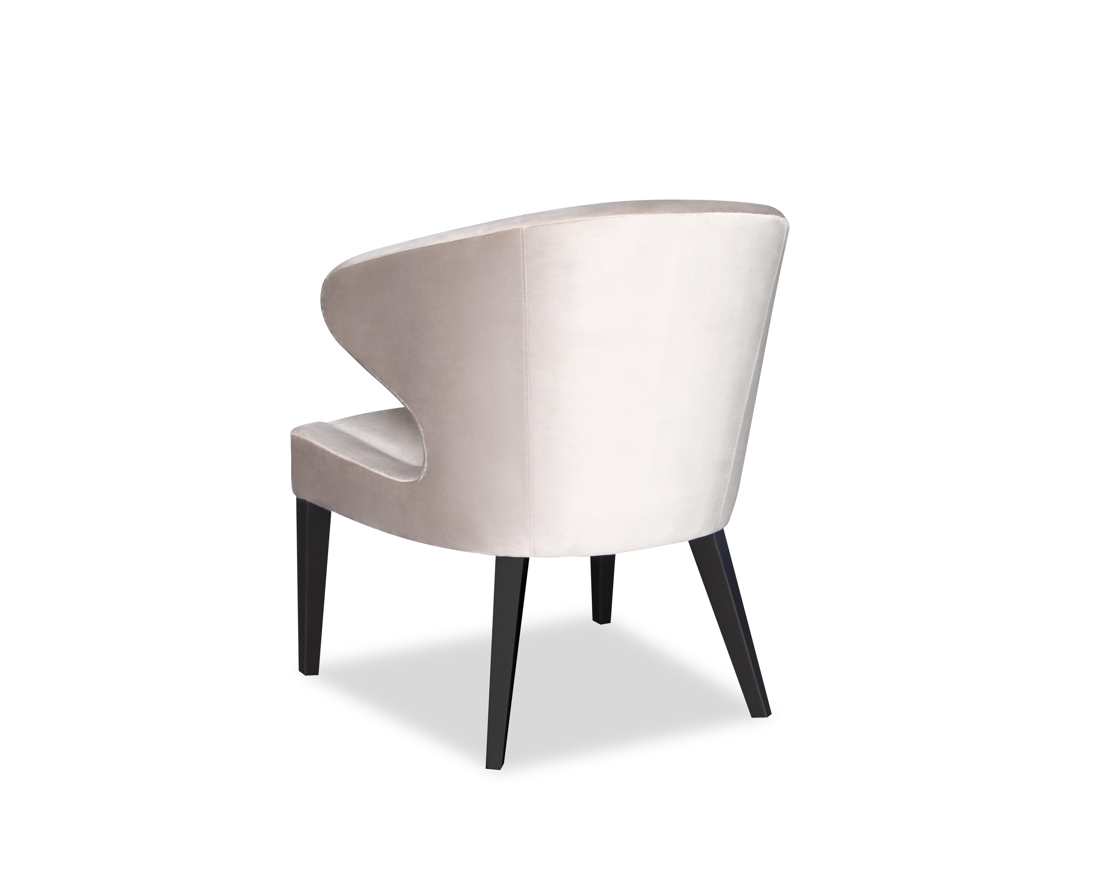 Liang & Eimil Taylor Occasional Chair Ives Mink Velvet OD-OCH-007 (4)
