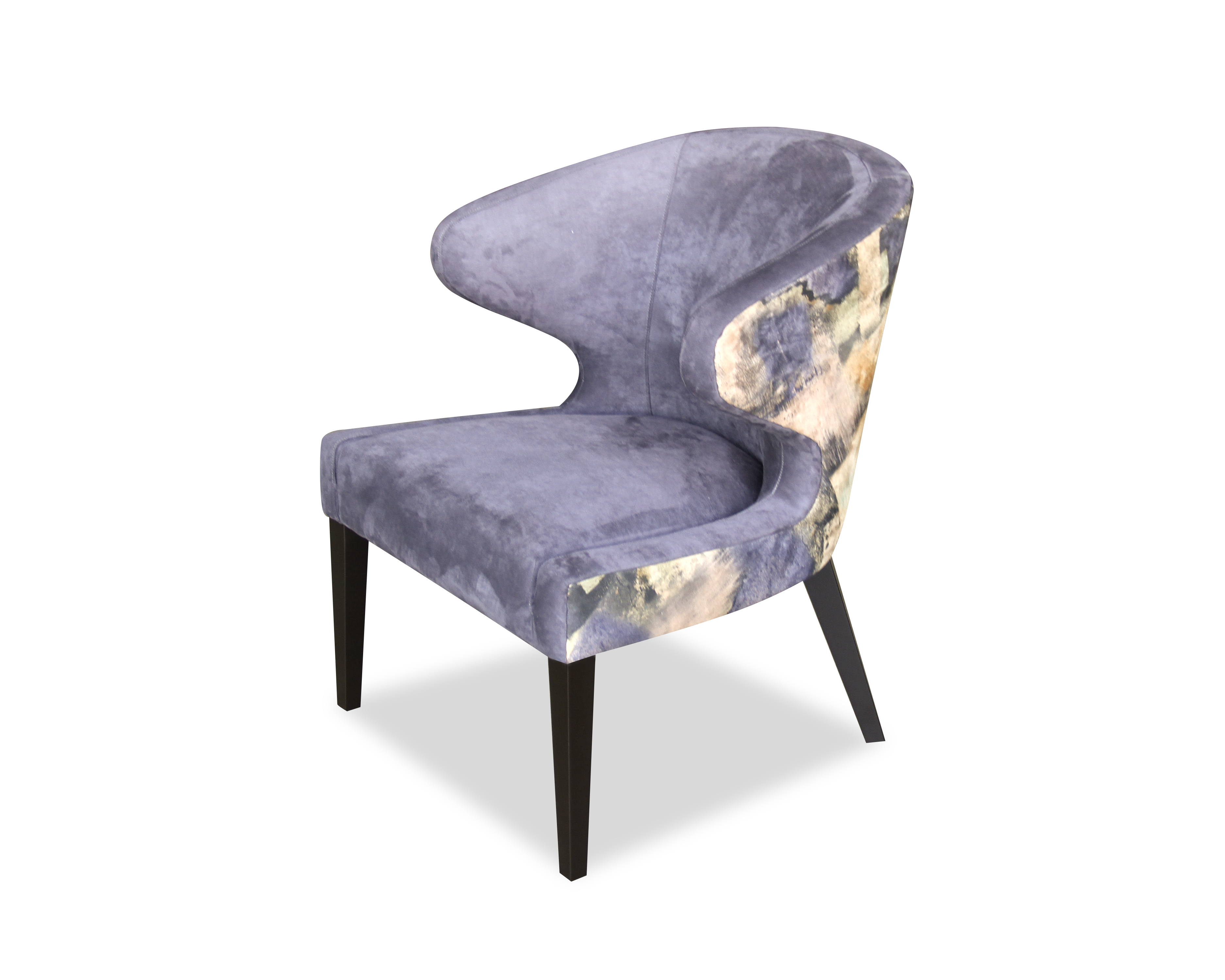 Liang & Eimil Taylor Occasional Chair Prussian Blue & Roral Print OD-OCH-004 (3)