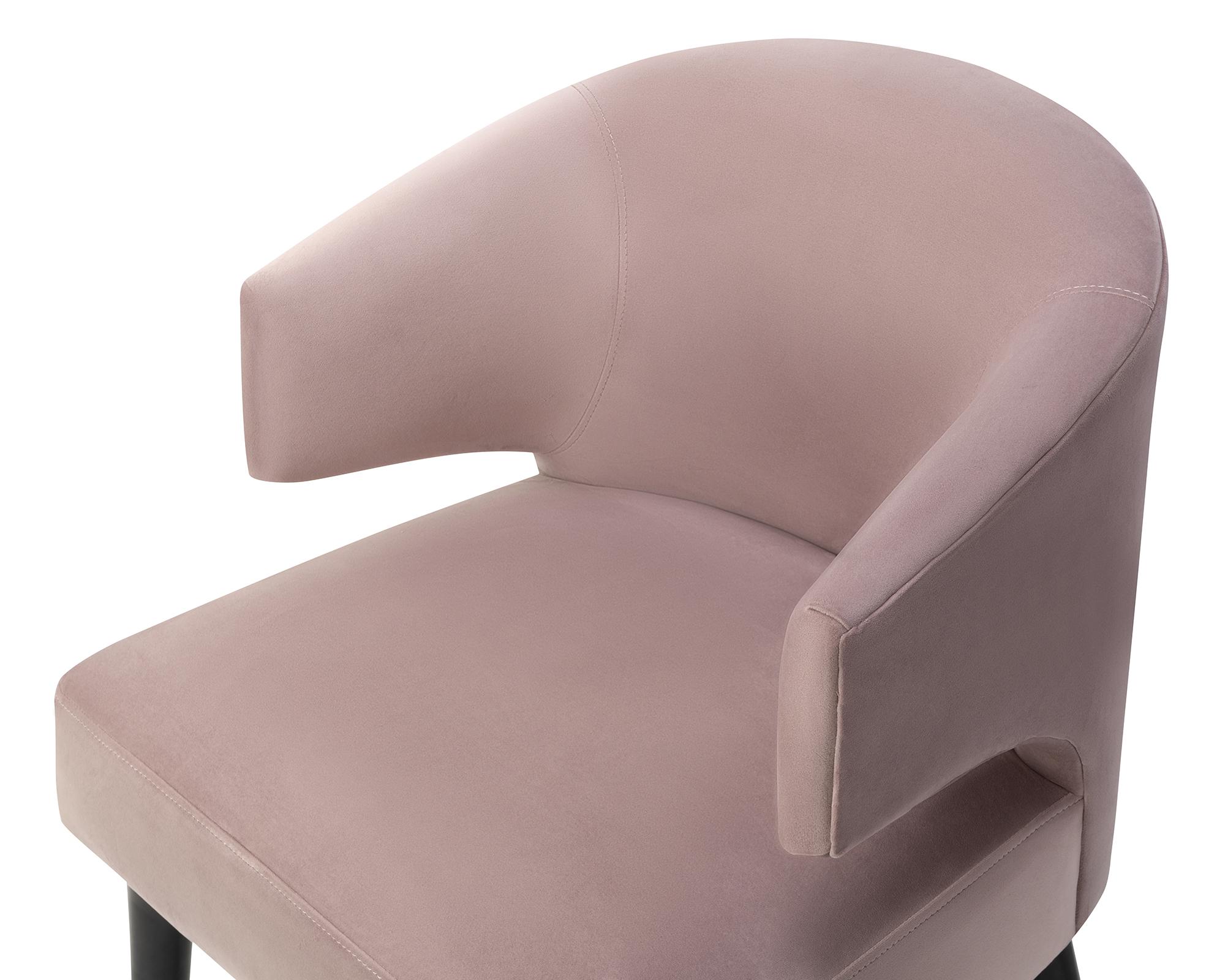 Liang & Eimil Mia Dining Chair Lilac Velvet BH-DCH-140 (6)