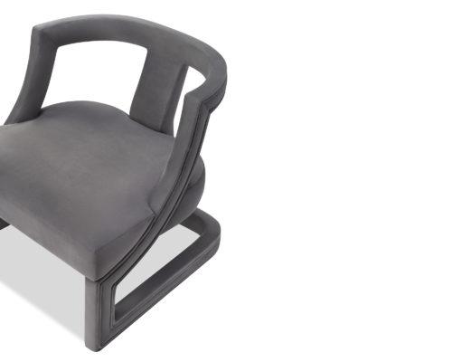 Liang & Eimil Jimi Occasional Chair Night Grey Velvet BH-OCH-111 (3)
