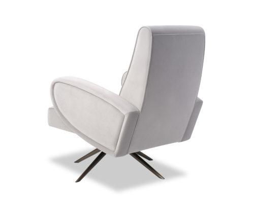 Liang & Eimil Strata Chair Kaster Light Grey Velvet BH-OCH-183 (3)