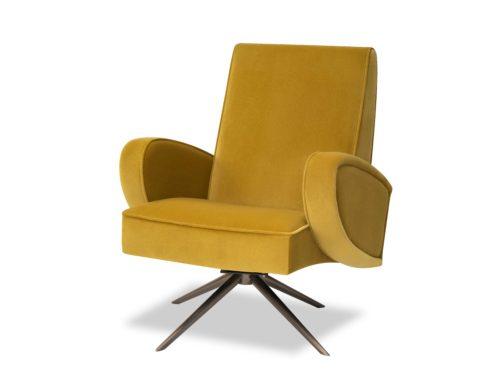 Liang-&-Eimil-Strata-Chair-Kaster-Mustard-Velvet-BH-OCH-182