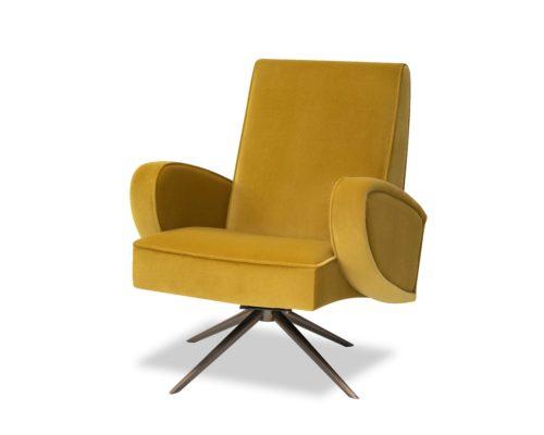 Liang-&-Eimil-Strata-Chair-Kaster-Mustard-Velvet-BH-OCH-182-(2)