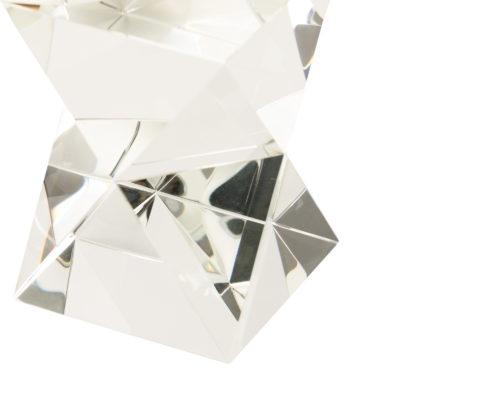 Crystal Glass Bookends FJHC-ACSR-001