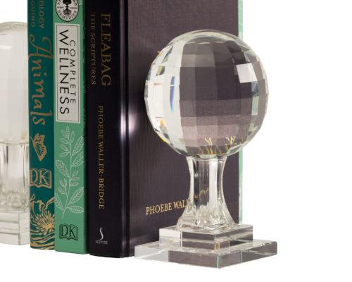 Crystal Bookends FJHC-ACSR-008