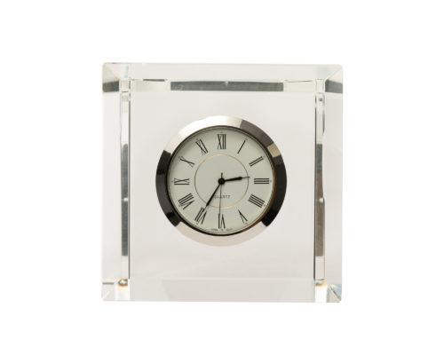 Crystal Glass Clock FJHC-ACSR-011