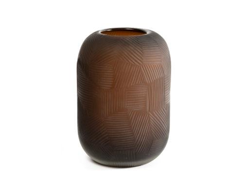 Glass Vase Chocolate DCC-VS-019
