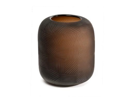 Glass Vase Chocolate DCC-VS-020