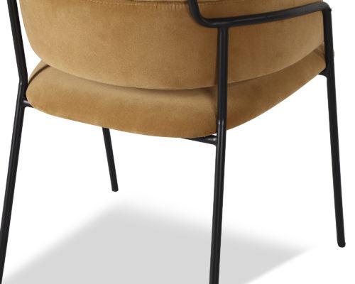 Liang & Eimil Alice Dining Chair Toscana Camel Velvet GV-DCH-061 (1)